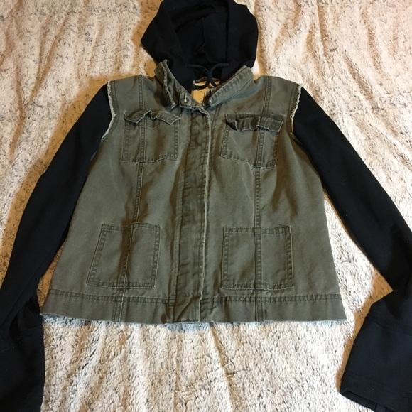 cb0f0e60f Multi fabric jacket